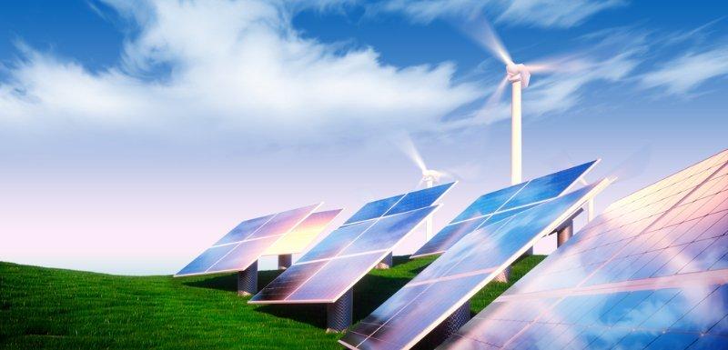 Pannelli solari e pale eoliche