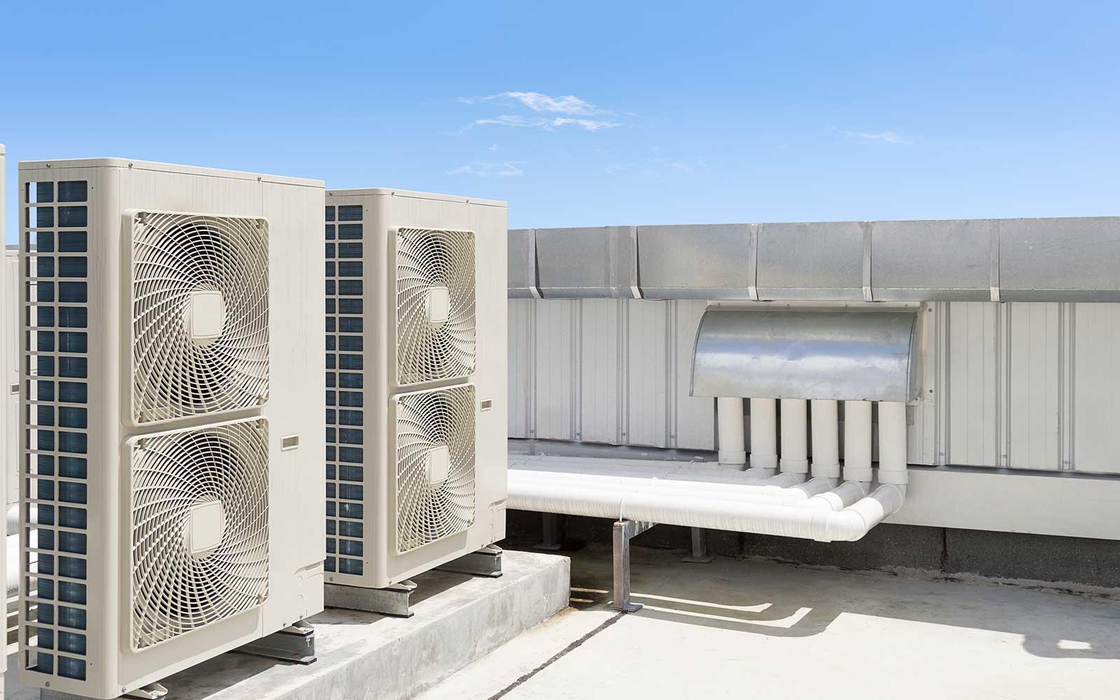 Unitá esterne del sistema d'aria condizionata