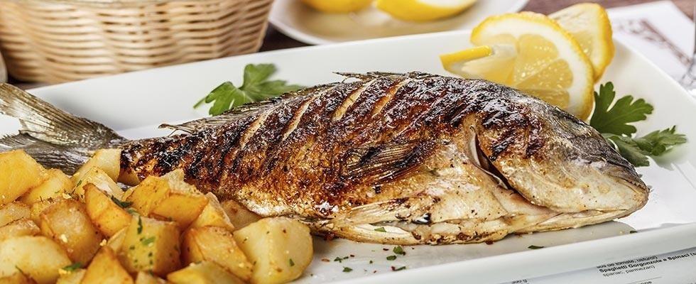 ristorante pesce griglia