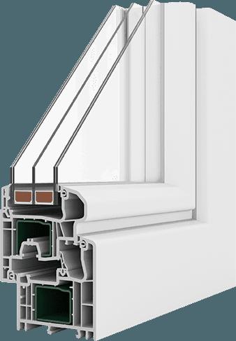 campione di finestra per l'isolamento acustico
