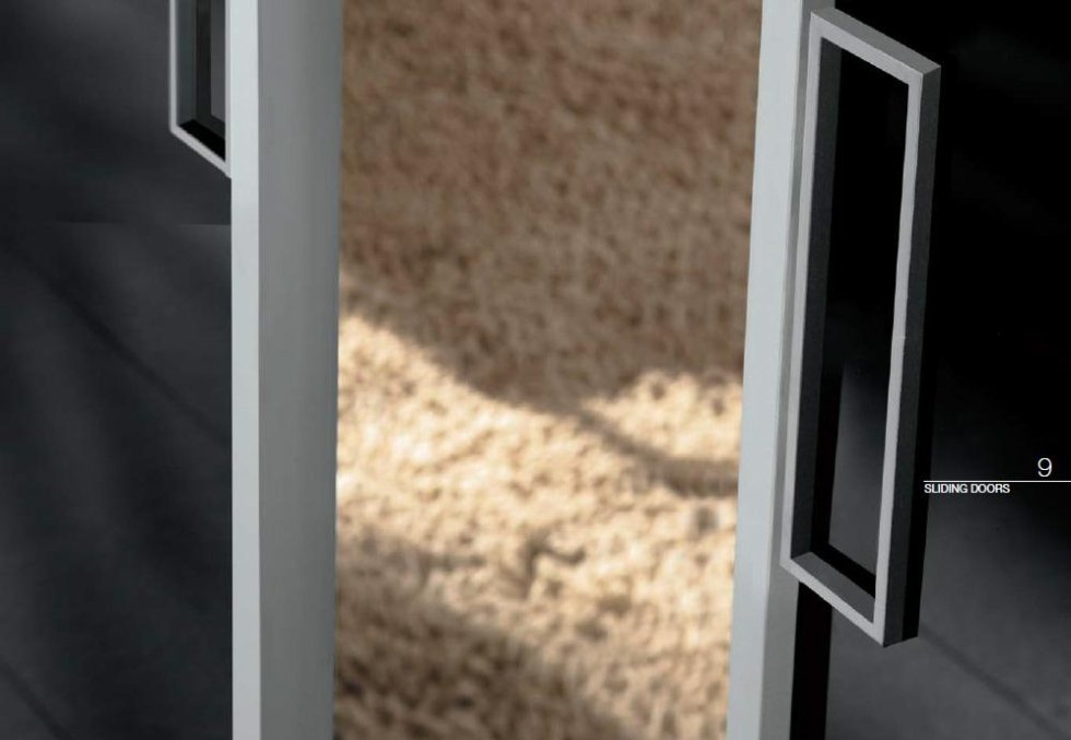 Dettaglio porta scorrevole