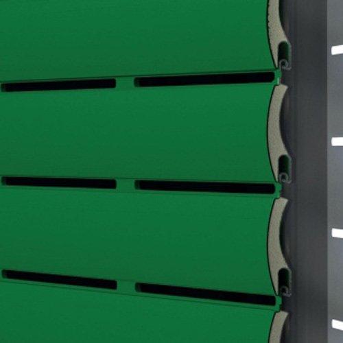 Listarelle in alluminio verdi per tapparella Arialuce