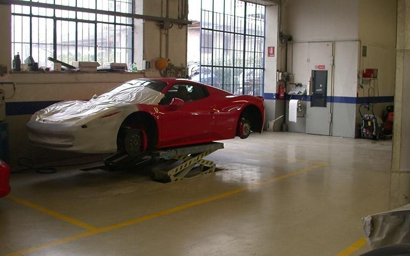 Ferrari restauro