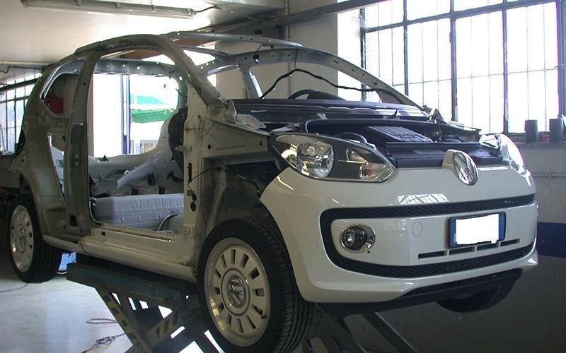 Volkswagen up lavori