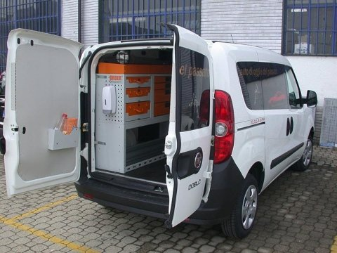 allestimento interni furgone