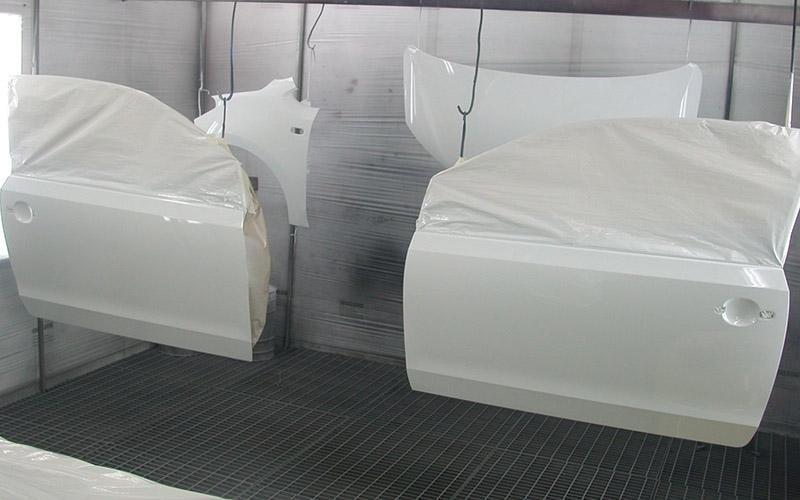 Volkswagen up colorazione portiere