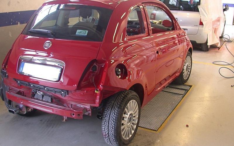 Fiat cinquecento riparazione