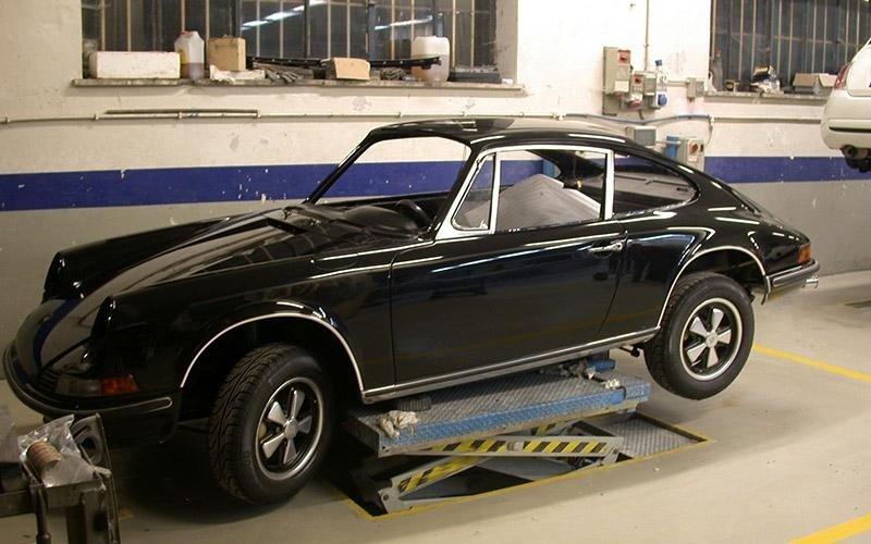Porsche verniciatura