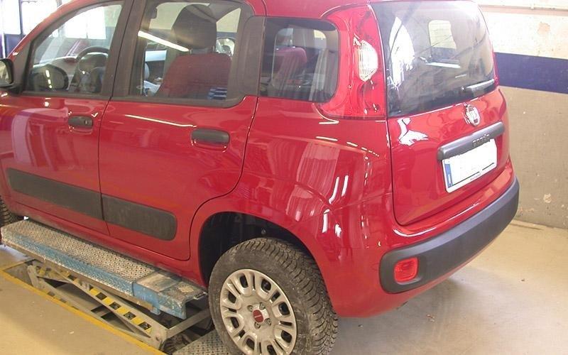 Fiat Panda carrozzeria