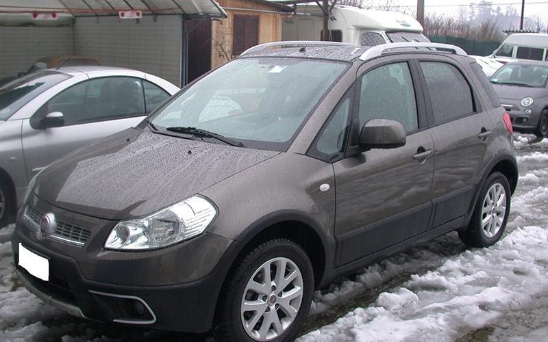 Fiat Sedici carrozzeria
