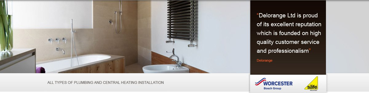 Gas services - Maidenhead, Berkshire - Delorange Ltd -  Bathroom