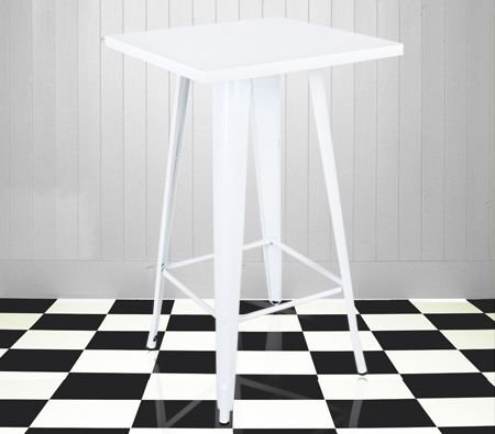 white sitting stool