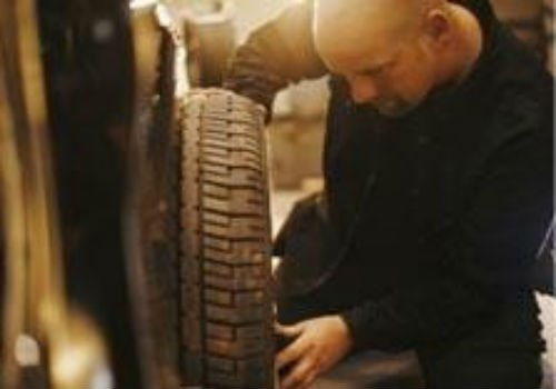 Cambiando la ruota