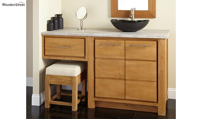 3 Vision Bathroom Vanities Walnut Finish This Vanity Has Been Made With A In The Mind Of Utilising Corner Best Way