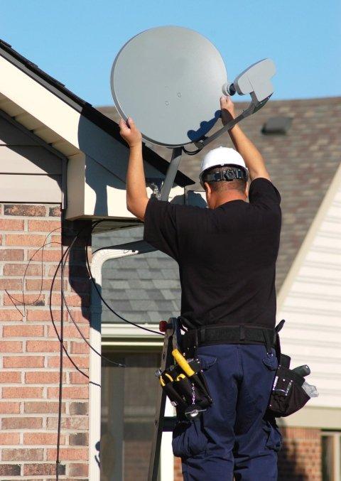 montaggio antenne