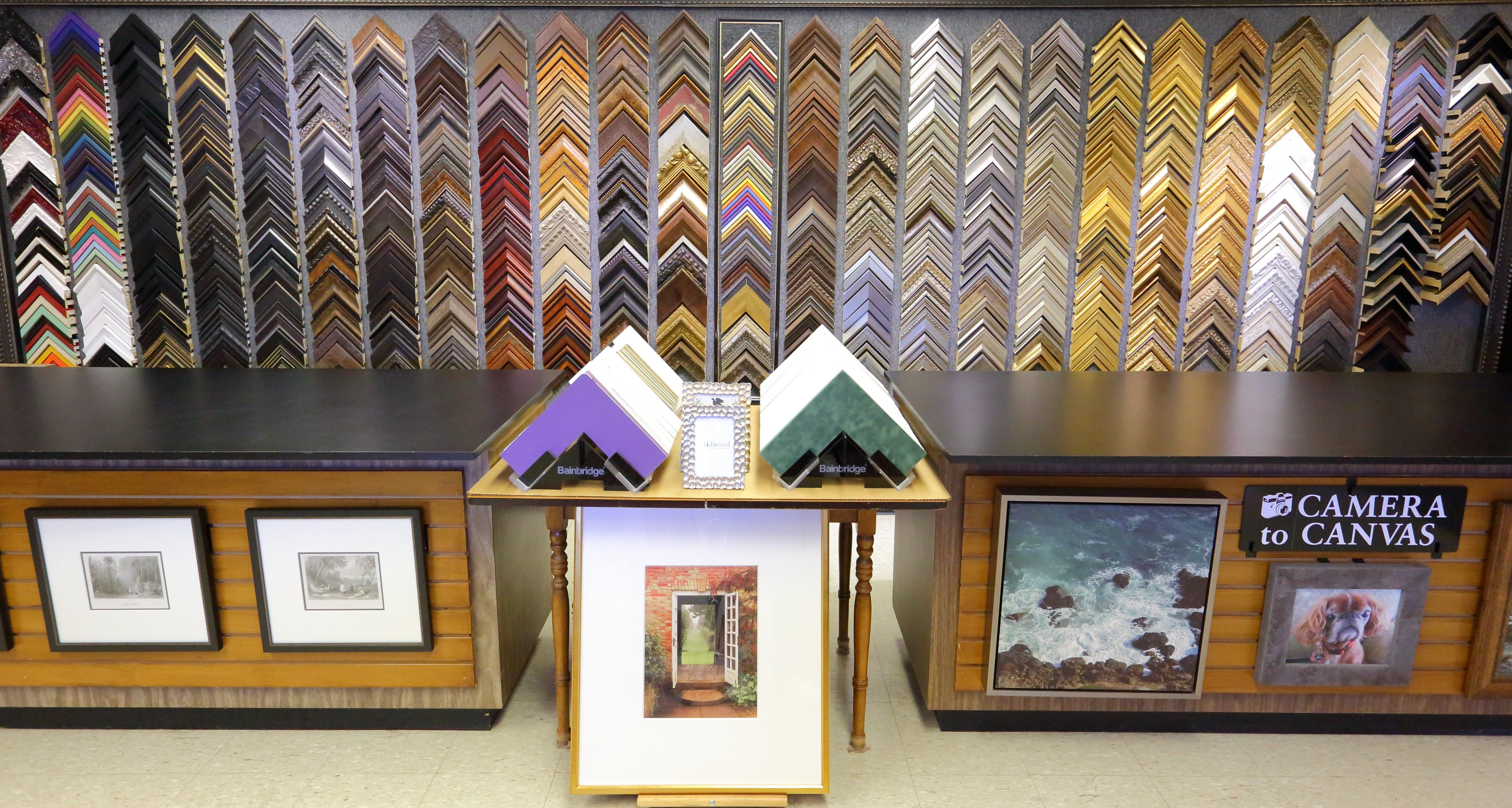 custom picture framing services - Houston TX