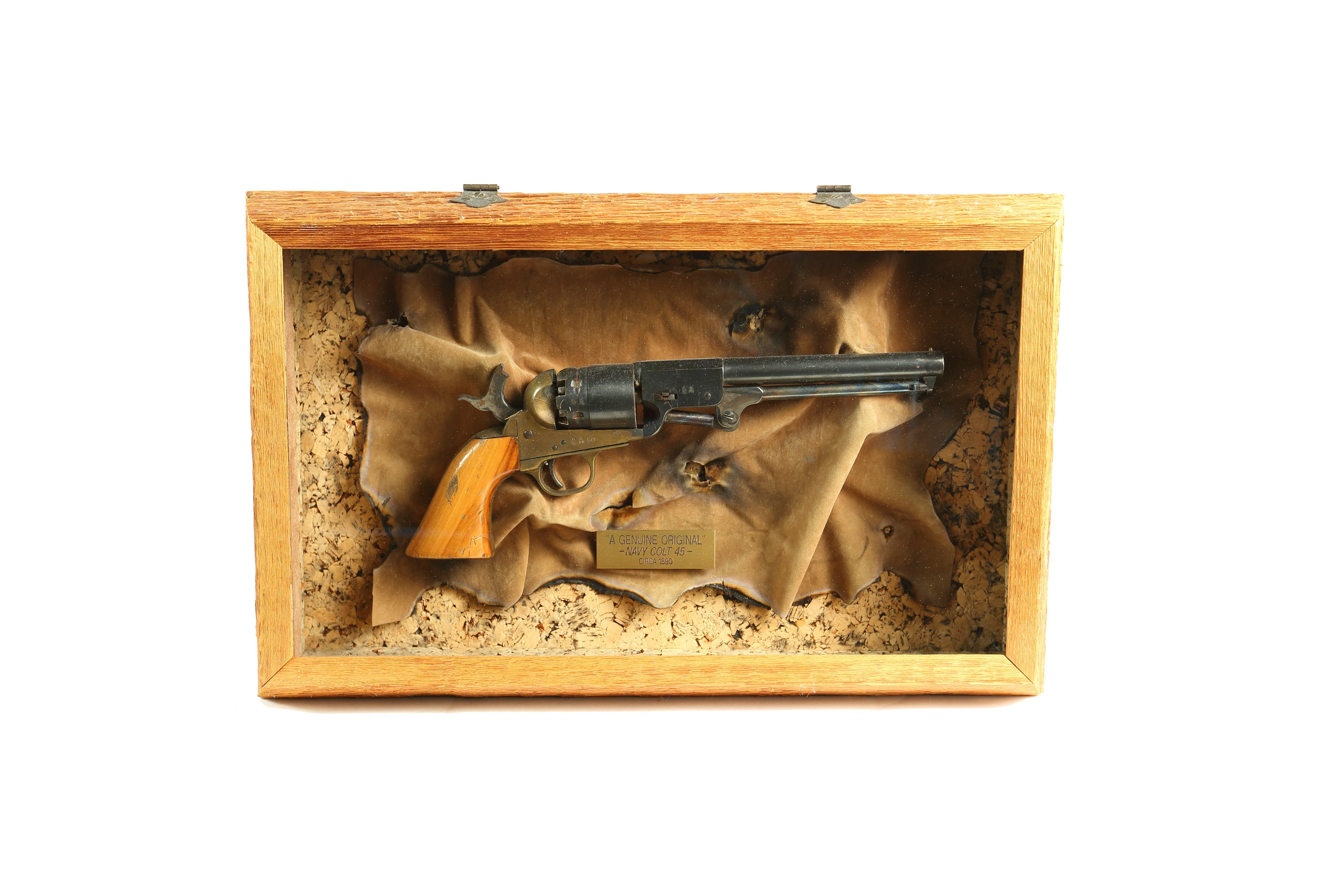 gun in custom shadow boxes - Houston, TX