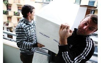 trasporto scatoloni per trasloco