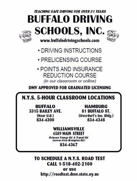 5 Hour Driving Course Buffalo Driving School