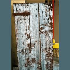 Restauro serramento oscurante: prima