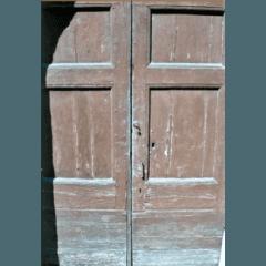 Portone ingresso in rovere: prima