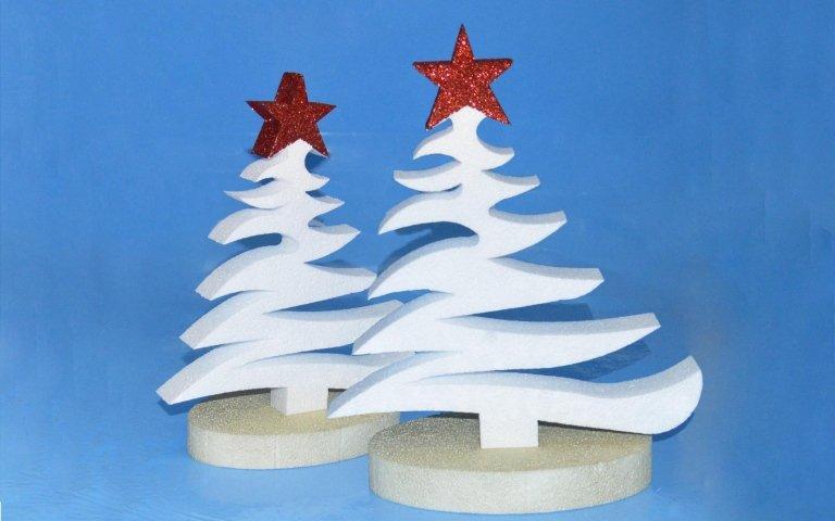 Decorazioni natalizie polistirolo ki05 pineglen - Decorazioni in polistirolo ...