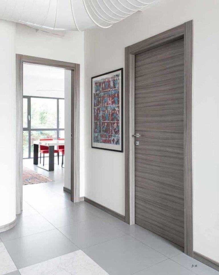 porta in palissandro grigio