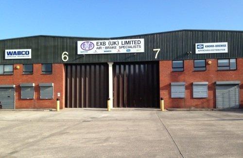 Contact EXB UK air brake distribution center in Bristol