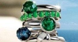 anelli in argento con pietre dure