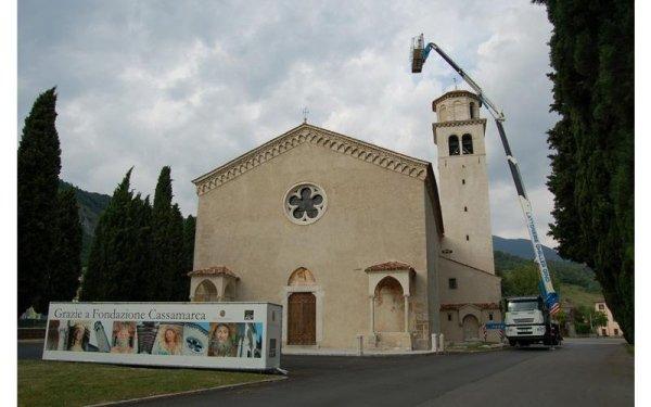 lavoro in Chiesa S.Andrea aVittorio Veneto