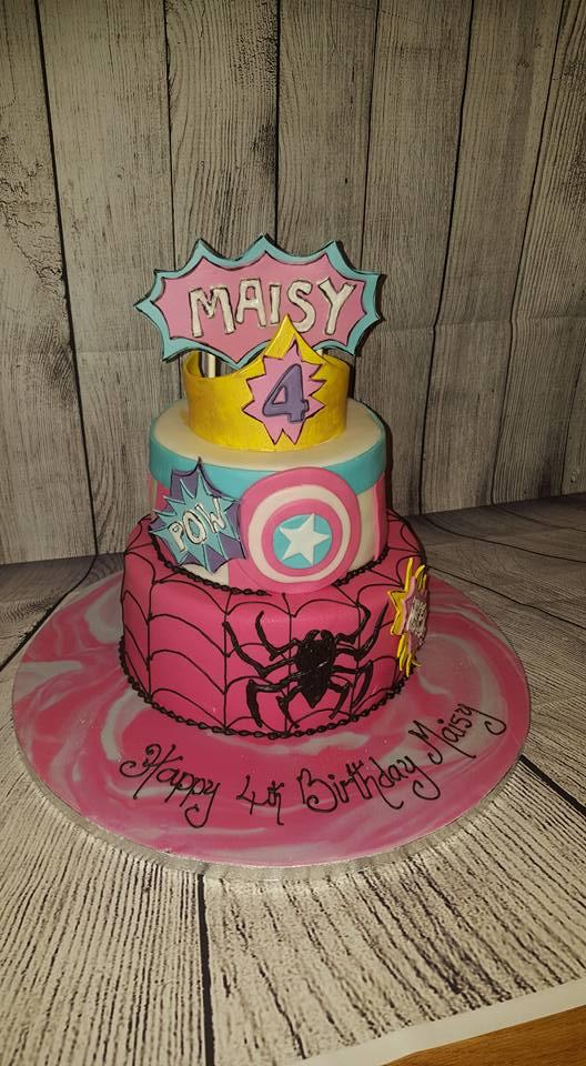 Maisy inspired cake
