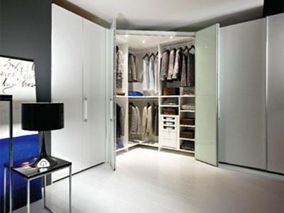 cabina armadio ad angolo