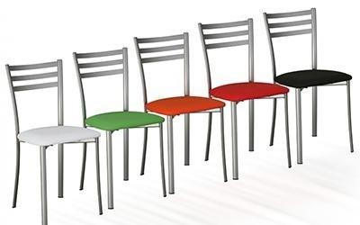 sedie con telaio acciaio