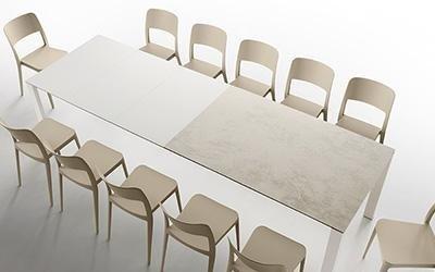 tavolo in vetro