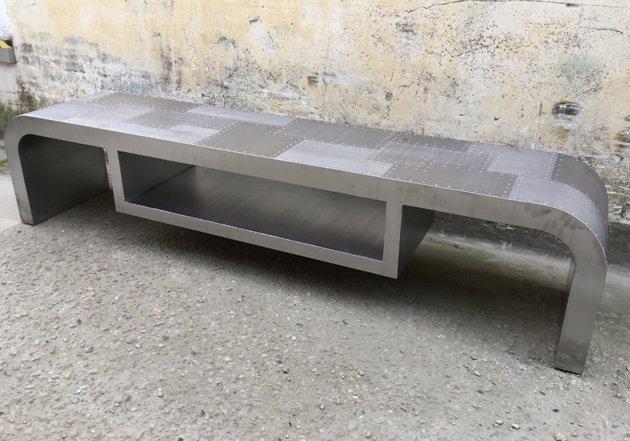 Aviator Mobile porta tv Design Andrea Scarpellini