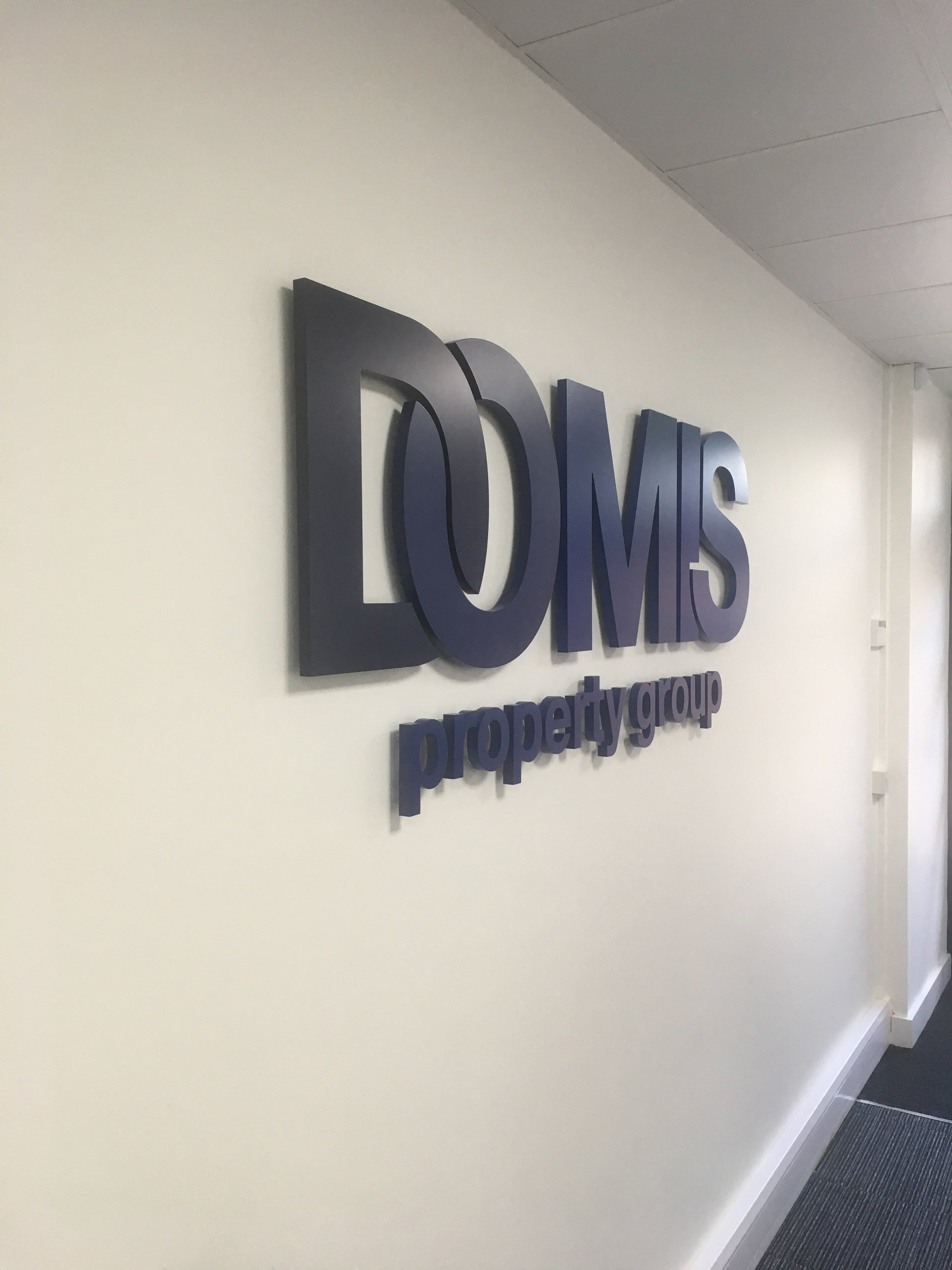 f19b670ae1 Elite Sign Solutions recently completed a fantastic project for the Domis  HQ in Warrington