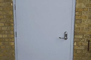 Custom-made steel doors
