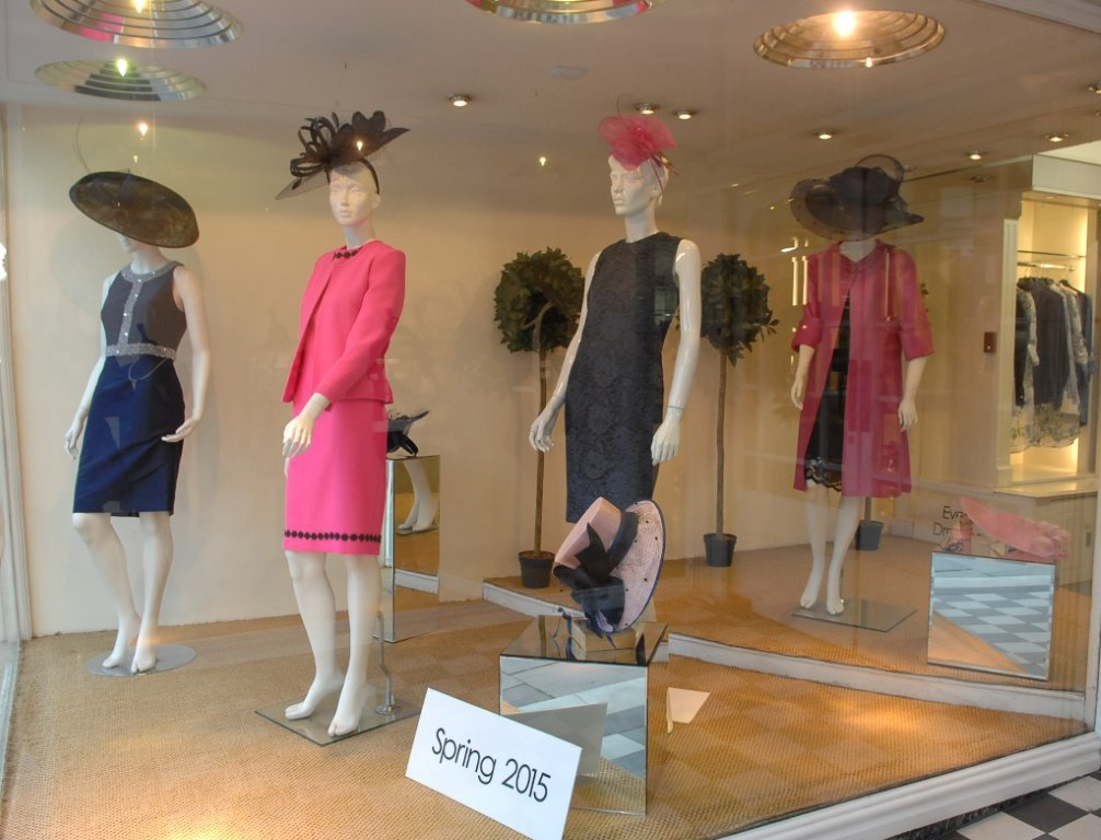 Interior view of our boutique in Harrogate