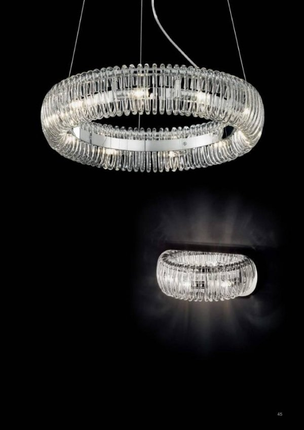lampade a sospensione circolari