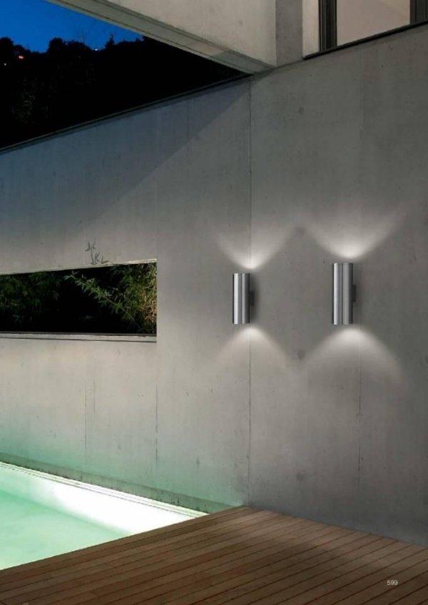 lampade a doppia diffusione per esterni