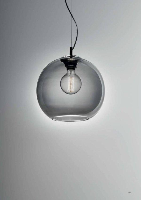 lampada a sospensione sferica
