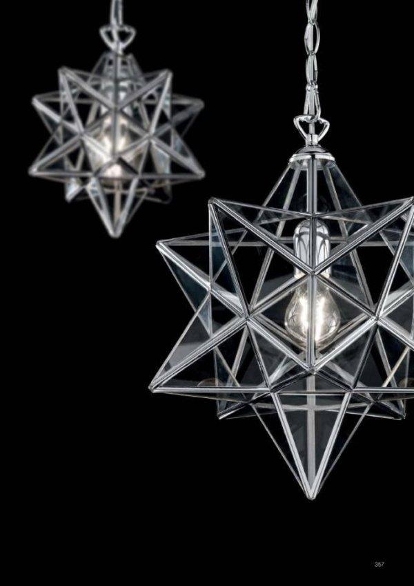 lampada a sospensione stella