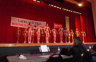 Carie's Posing Suits in competition