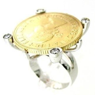 anello con sterlina