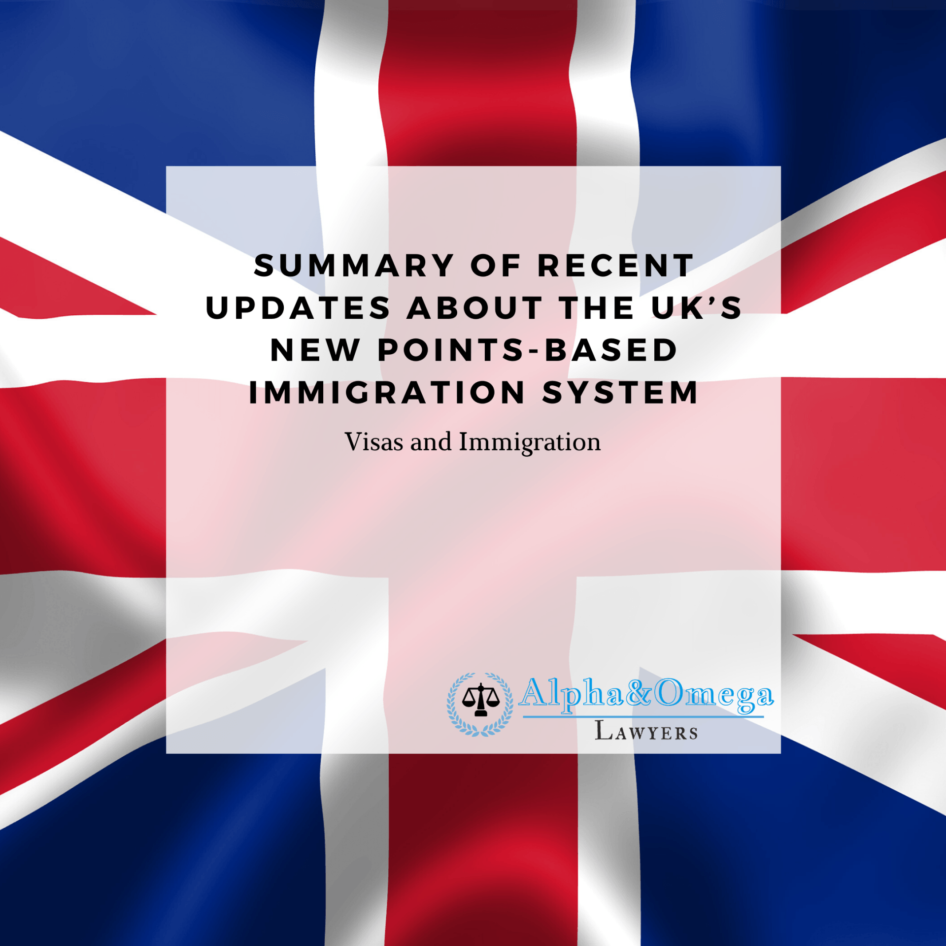 Summary Of Recent Updates About The UK's New Points-Based