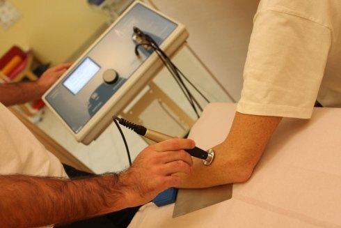 fisioterapia al braccio