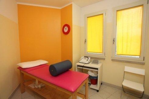 stanza per massaggi