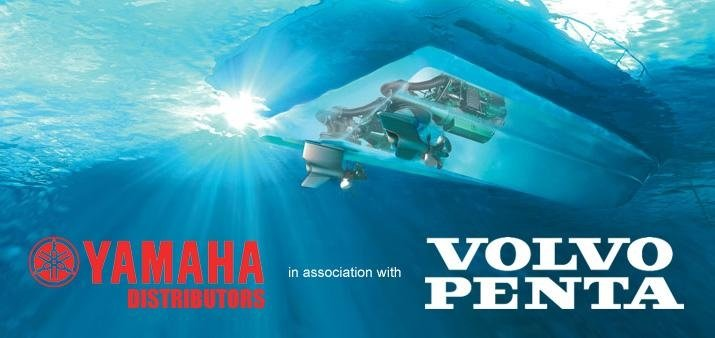 Volvo Penta and Yamaha Marine motors