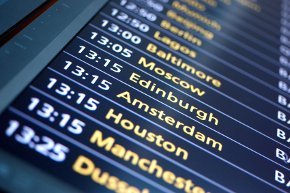 Airport Departure times