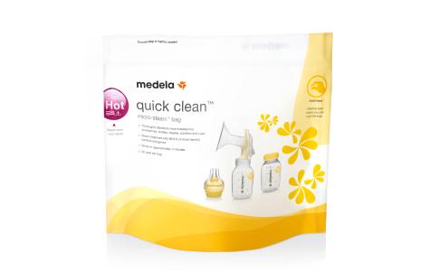 medela cleaning bags